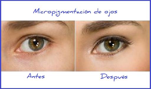 Micropigmentación de ojos indolora