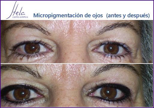 Micropigmentación de ojos en Basauri